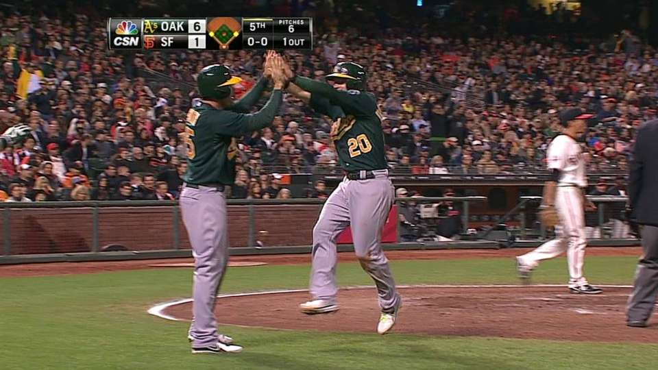 Freiman's two-run single