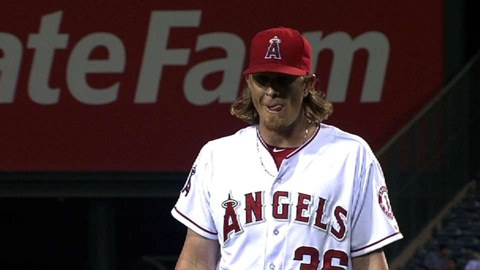 Weaver returns to the Angels