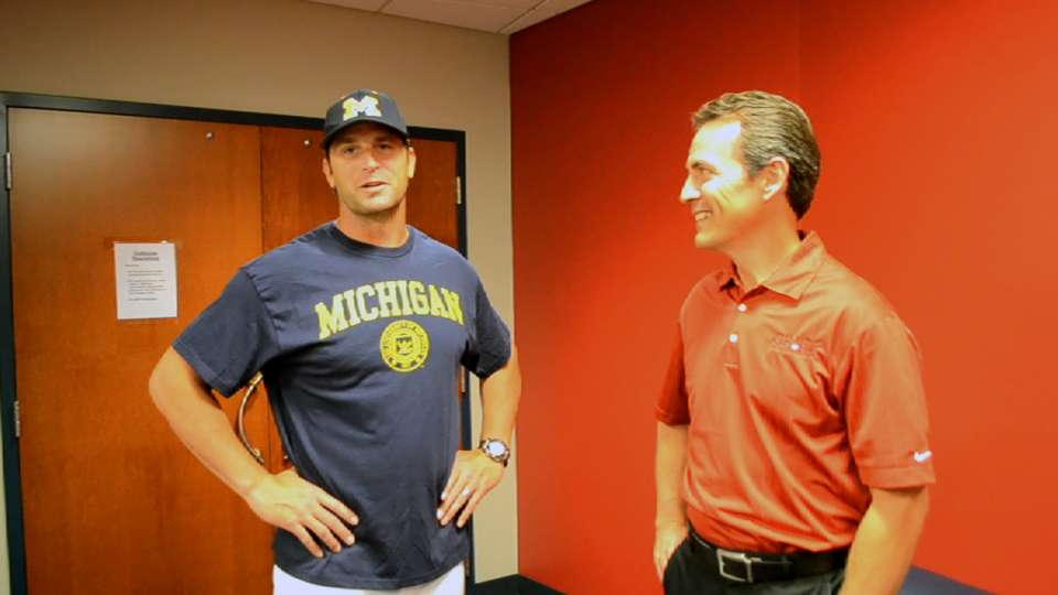 Matheny on importance of college
