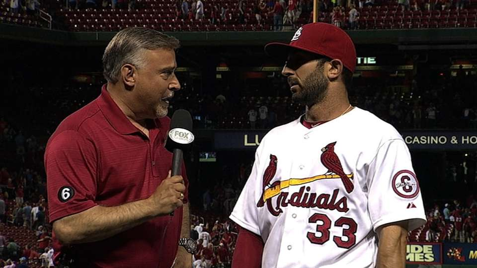Descalso on Cardinals' 5-3 win