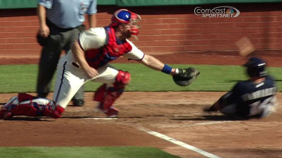 Galvis' great relay
