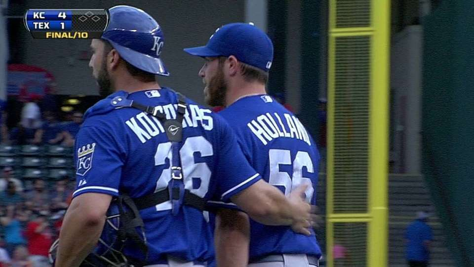 Holland notches save in 10th