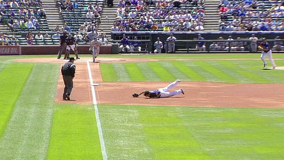Helton's diving play