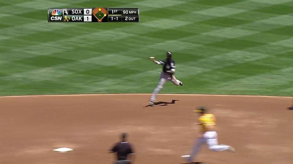 Ramirez's great toss to first