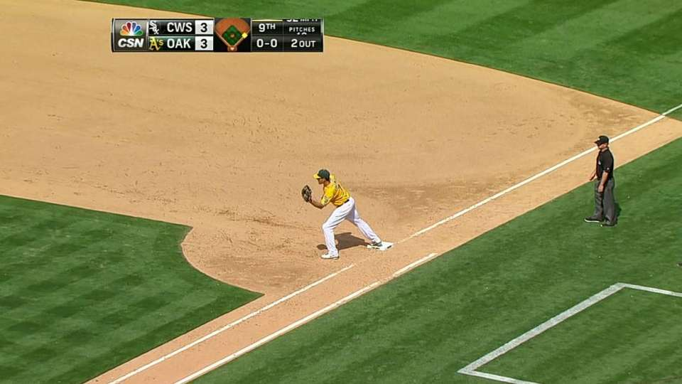 Lowrie's double play