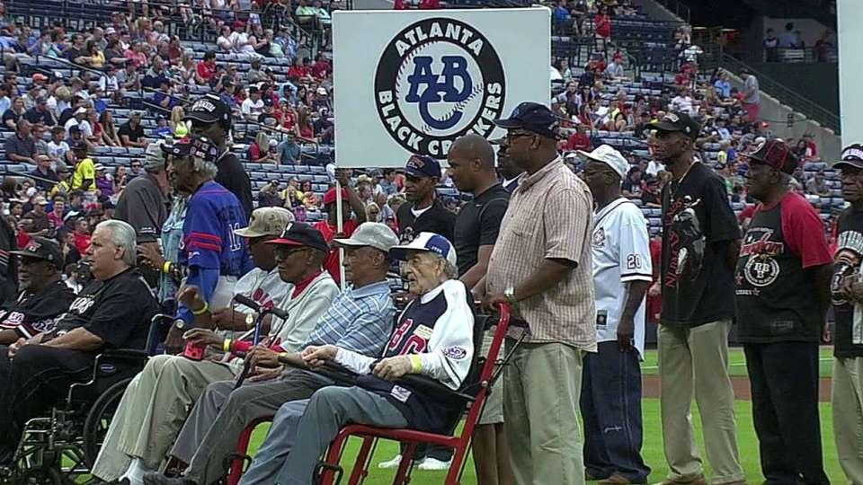 Braves honor Heritage Weekend