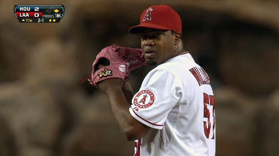 Williams' solid outing
