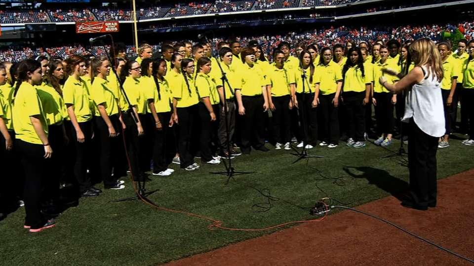 Drexel Hill sings Anthem