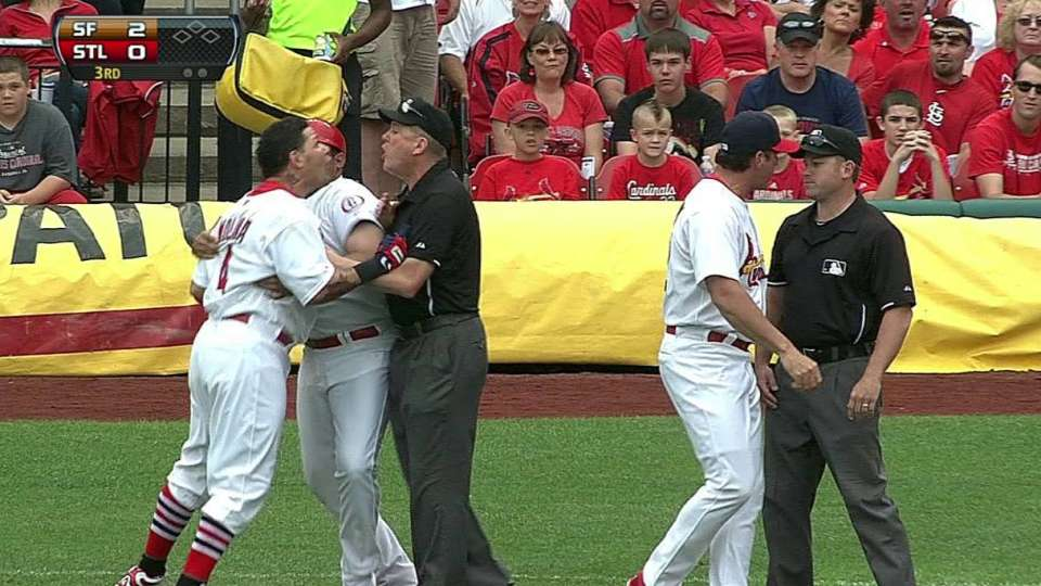 Molina's ejection
