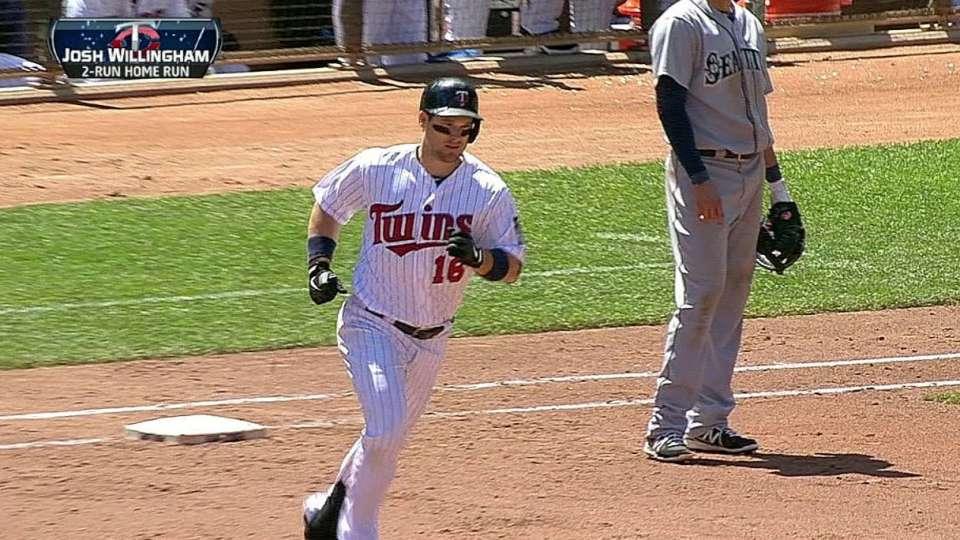 Willingham's two-run homer