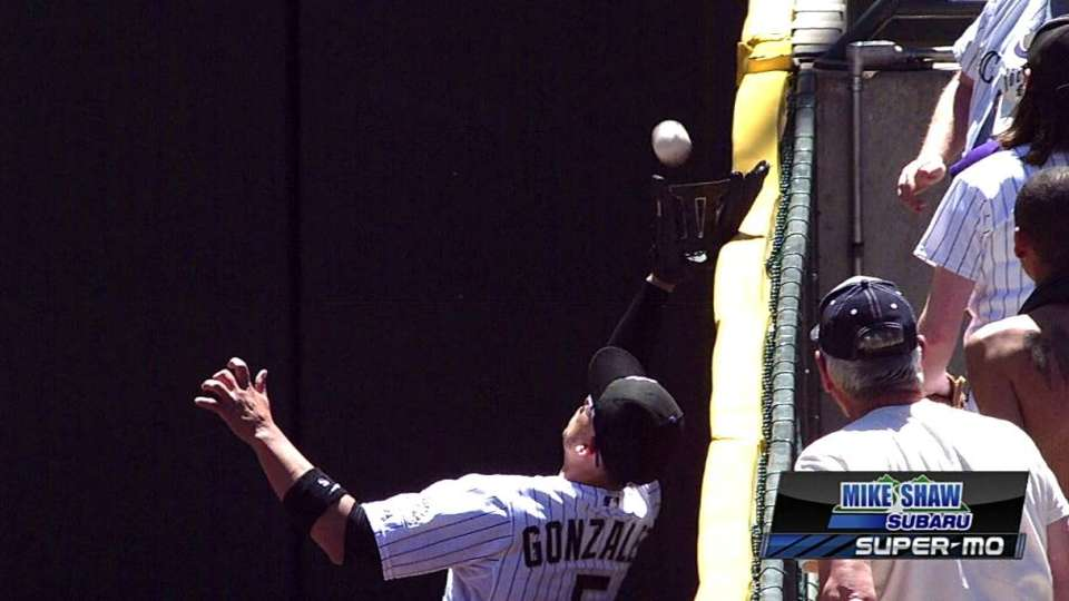 CarGo's leaping grab