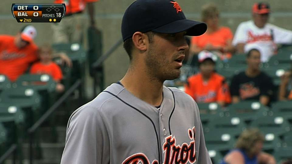 Porcello's solid start