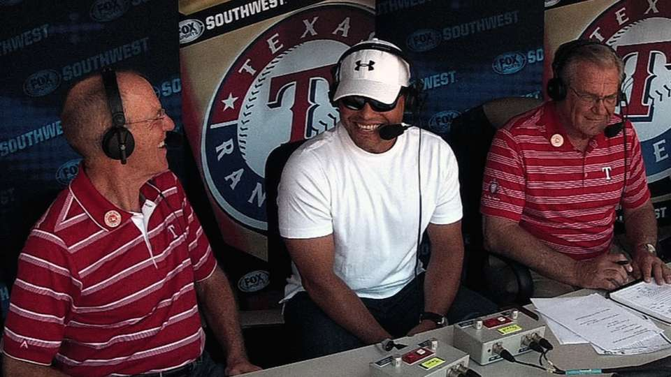 Pudge joins the booth