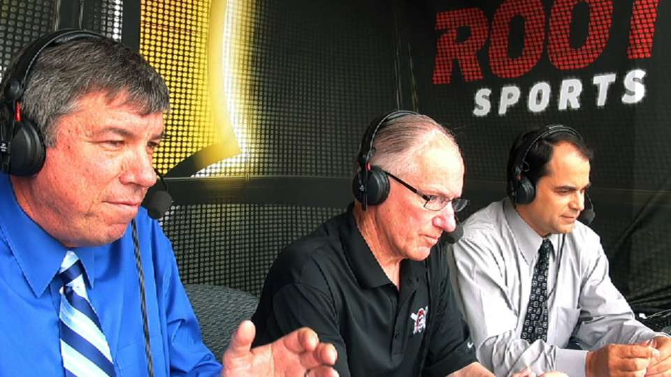 Mike 'Doc' Emrick in the booth