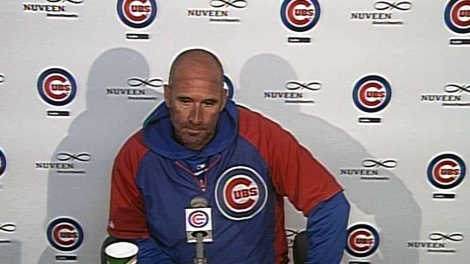 Sveum on Cubs' poor defense