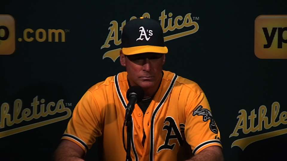 Melvin on A's recent success
