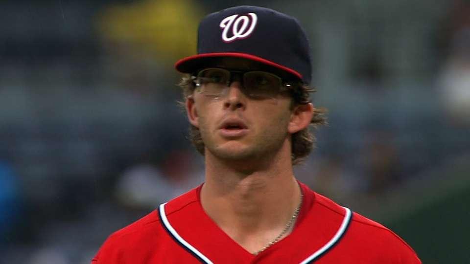 Davis' MLB debut