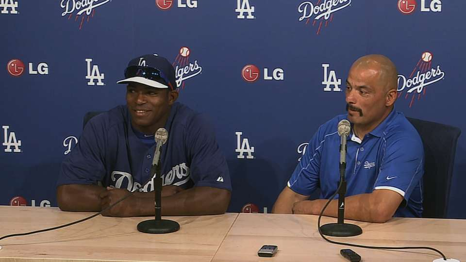 Puig excited about callup