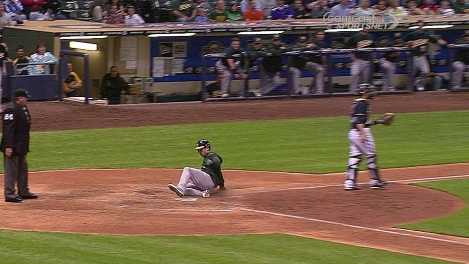 Jaso's two-run single