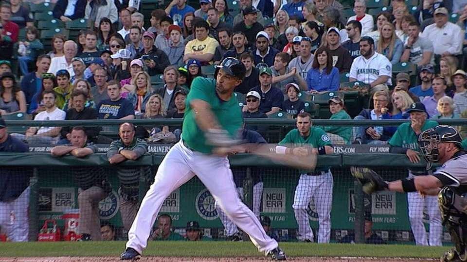 Ibanez's two-run homer