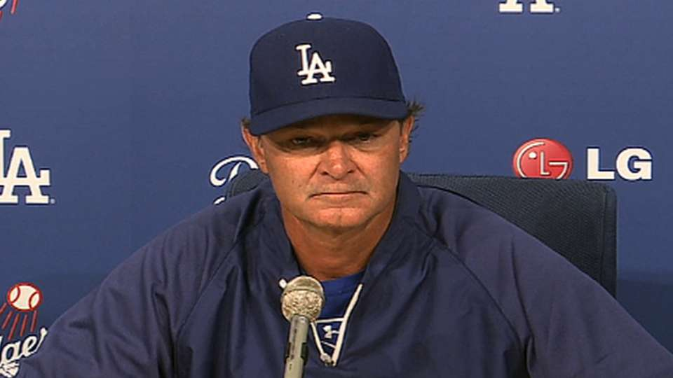 Mattingly on Fife, Puig in win