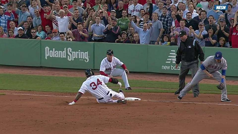 Ortiz's two-run triple