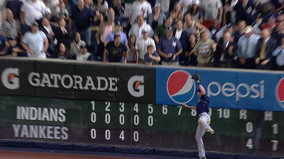 Stubbs' leaping catch