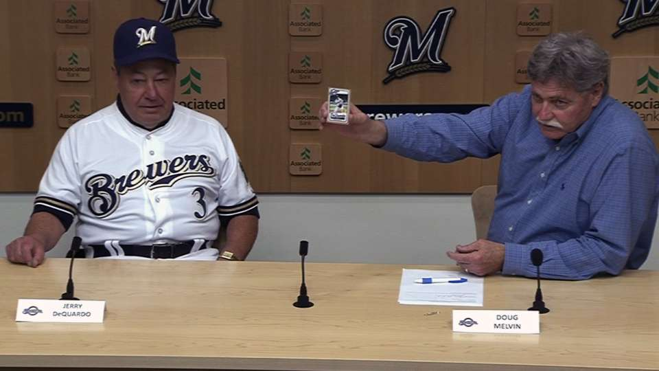 Brewers fan gets one-day deal