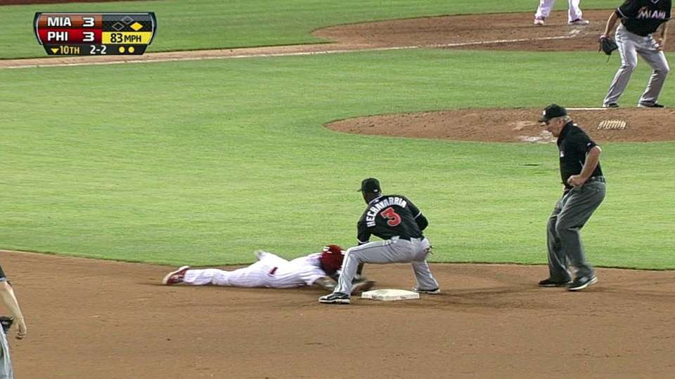 Brantly nabs Rollins stealing