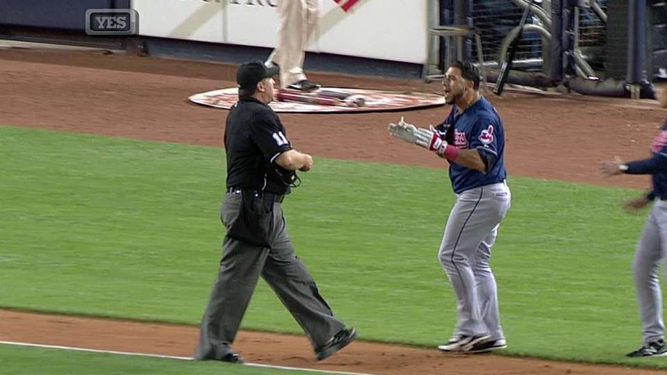 Aviles' ejection