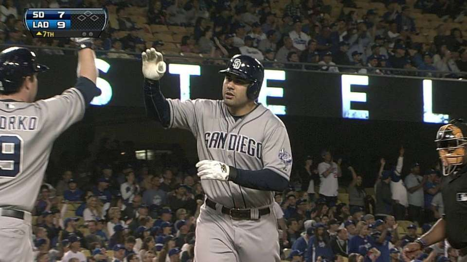 Quentin's solo homer