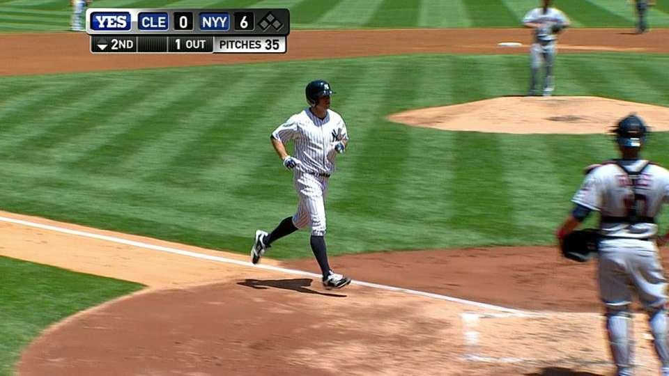 Gardner's three-run homer
