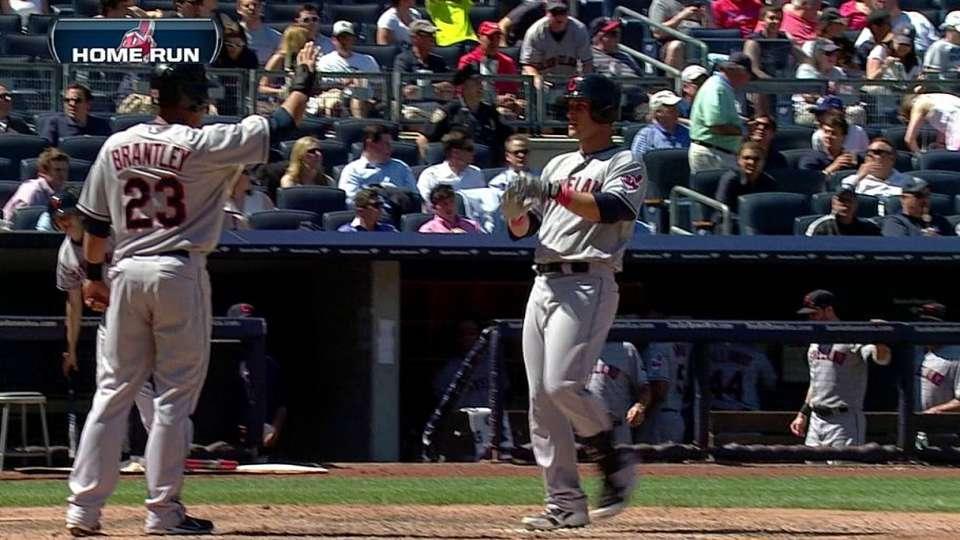 Gomes' two-run homer