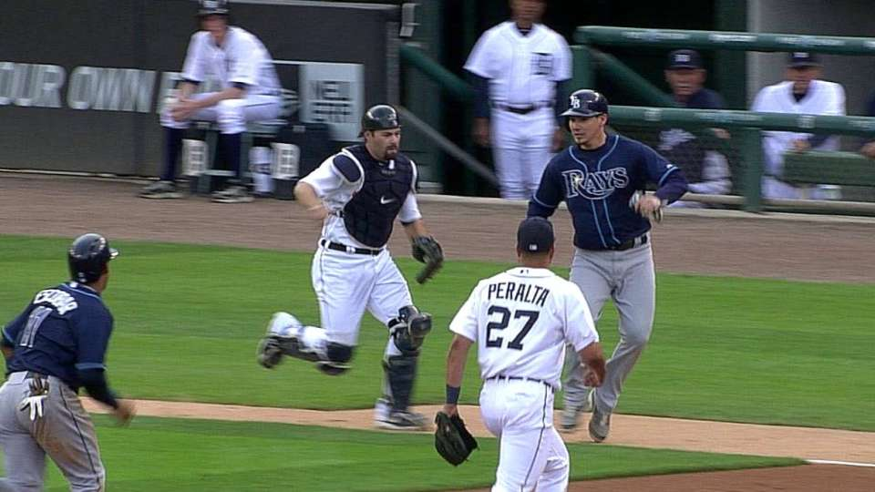 Tigers turn unique double play
