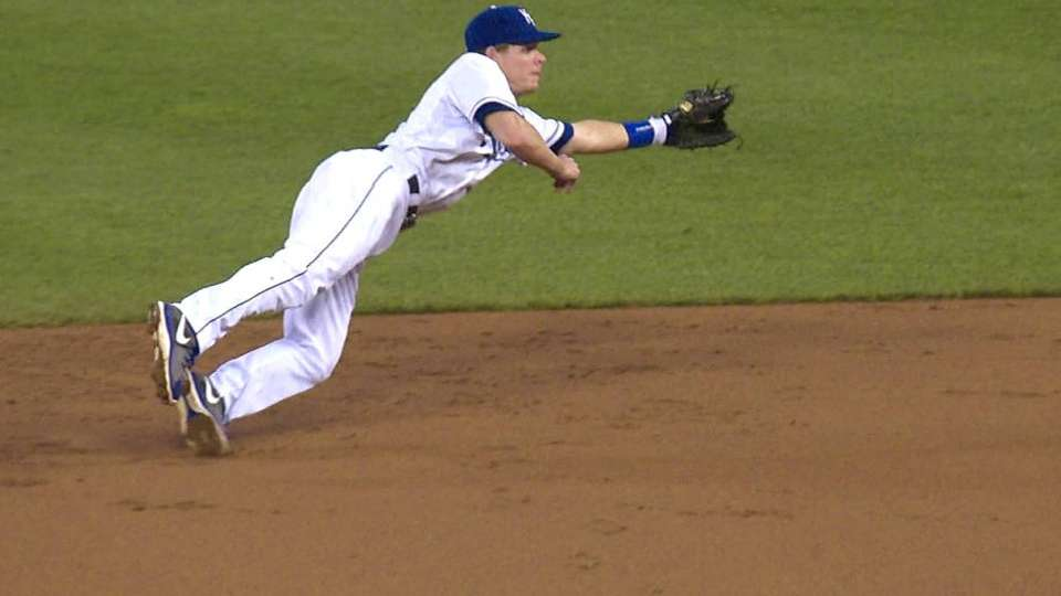 Getz's diving play