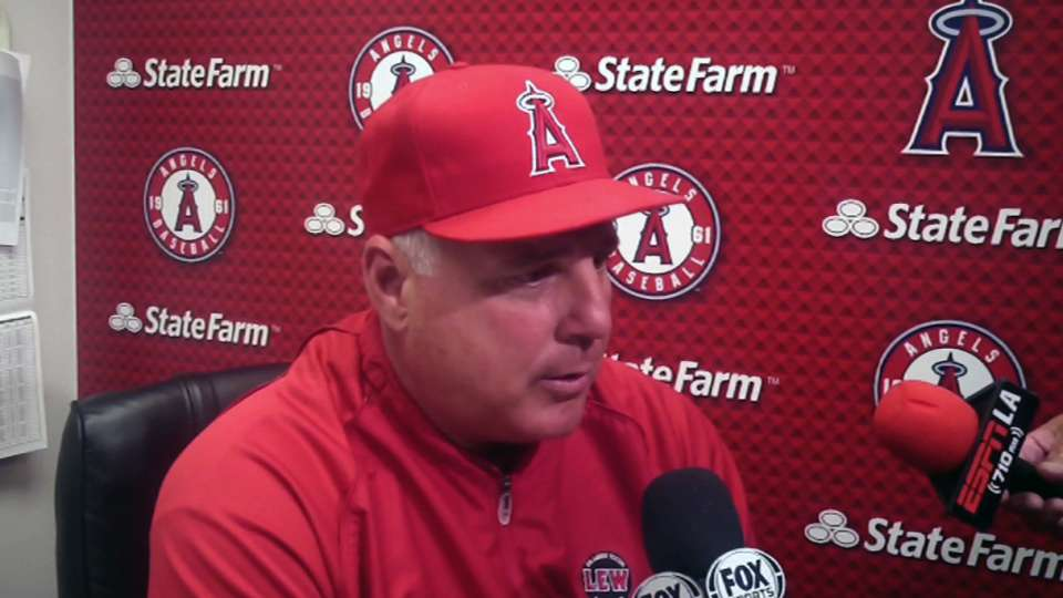 Scioscia on Angels' performance