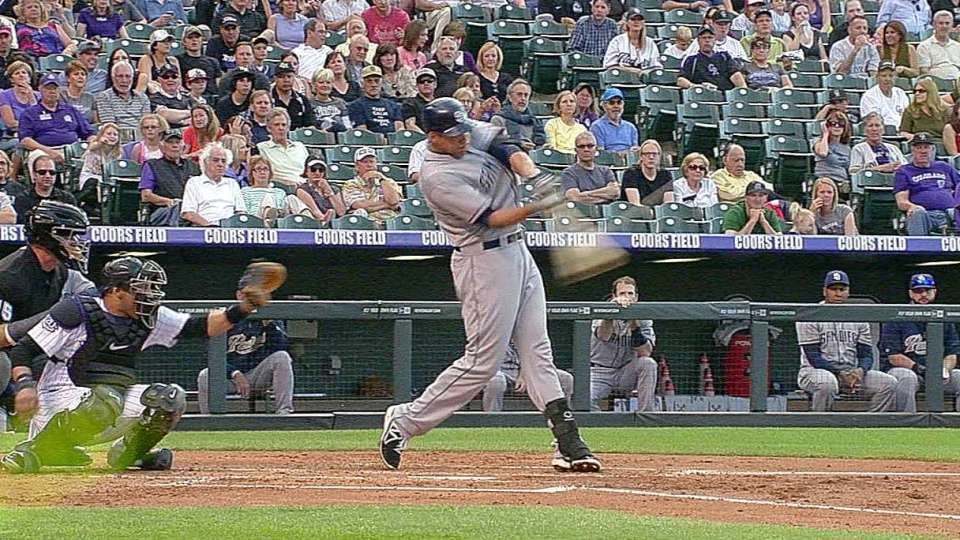 Blanks' two-run moonshot