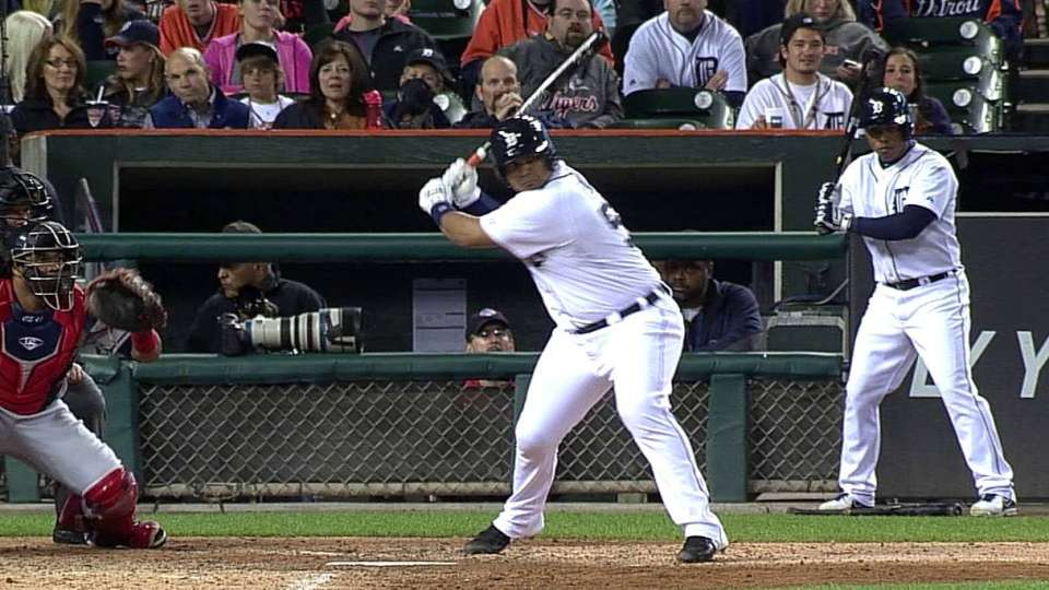 Pena's RBI base hit