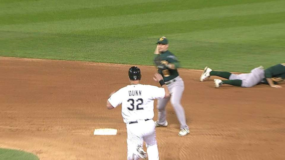 Rosales starts nice double play