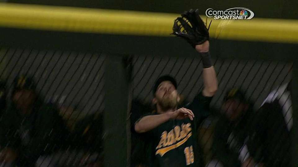 Gillaspie robbed of homer