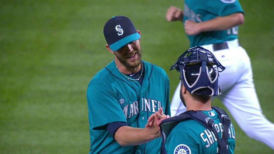 Wilhelmsen closes out the win