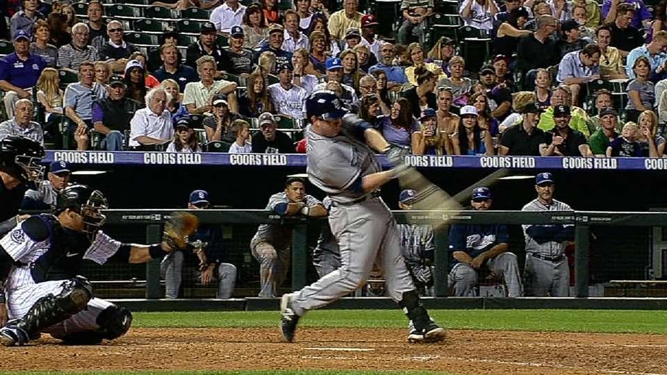 Gyorko's four-hit game