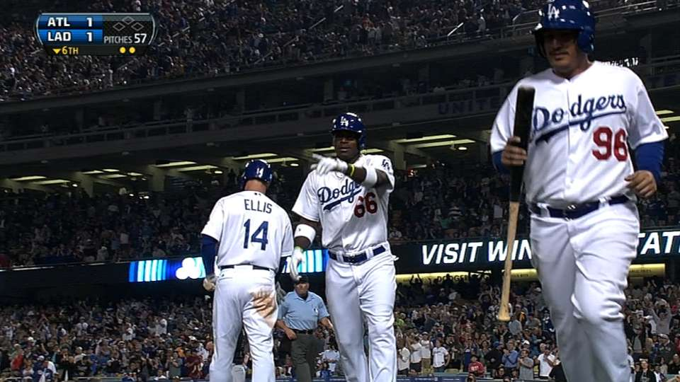 Puig's four homers in five games