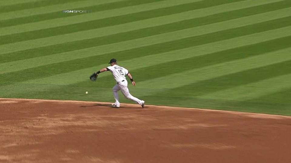 Beckham's impressive throw