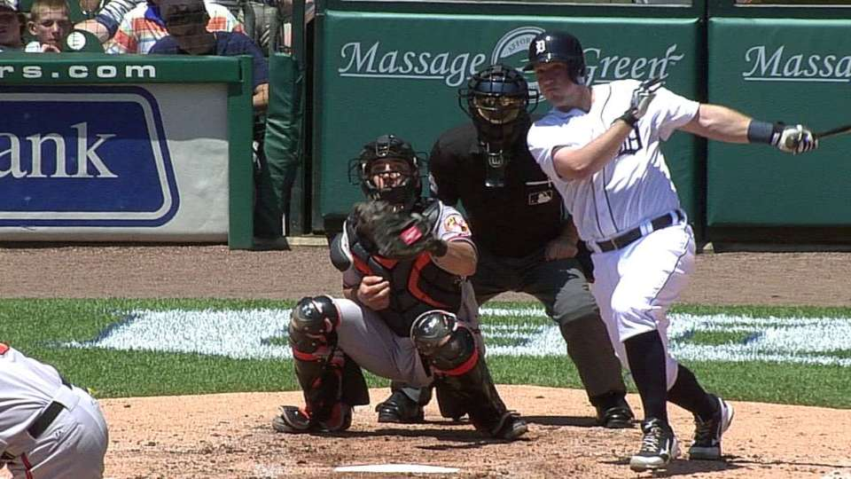 Holaday's first hit of 2013