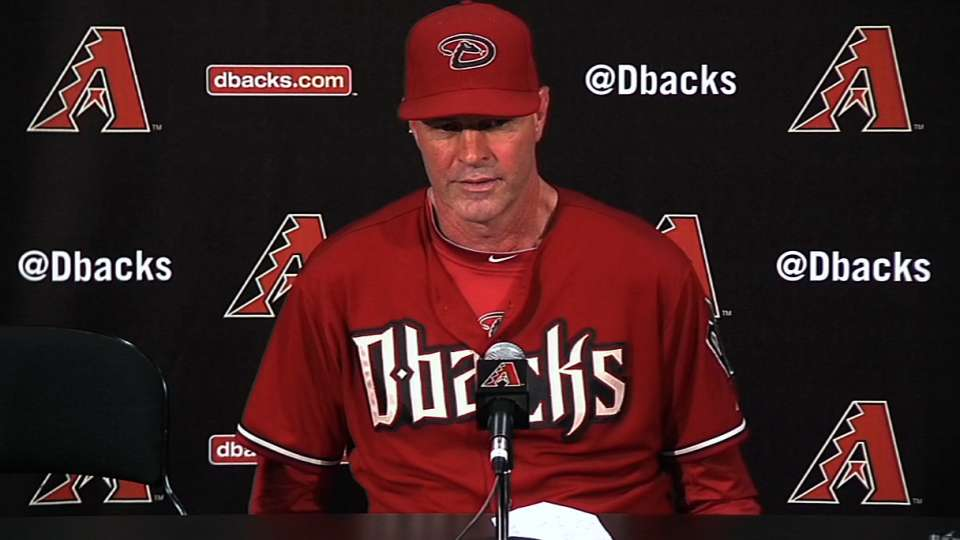 Gibson on win over Marlins