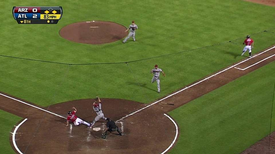 R. Johnson's RBI squeeze