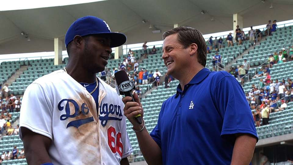 Puig on Dodgers' win