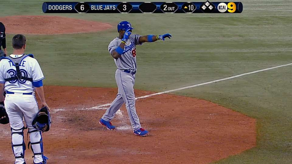 Puig does it all vs. Blue Jays