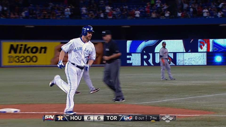 Blue Jays' eight-run seventh